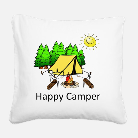 Cute Good father Square Canvas Pillow