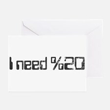 I Need Space Greeting Cards (Pk of 20)