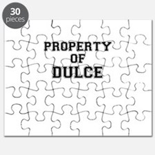 Property of DULCE Puzzle