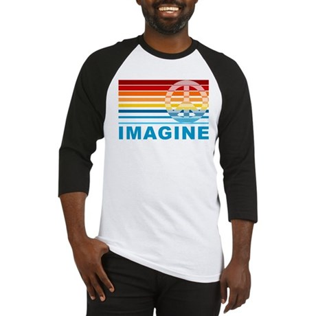 Imagine Peace Baseball Jersey