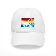 Imagine Peace Baseball Cap