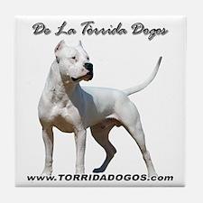 Torrida Dogos 2 Tile Coaster