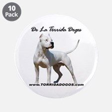 "Torrida Dogos 2 3.5"" Button (10 pack)"