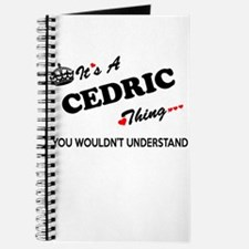 CEDRIC thing, you wouldn't understand Journal
