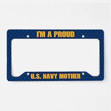U.S. Navy Mother License Plate Holder