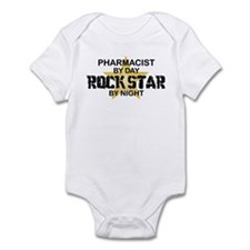 Pharmacist RockStar by Night Infant Bodysuit