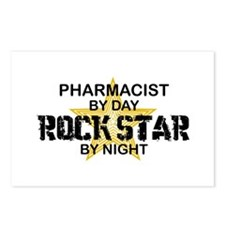 Pharmacist RockStar by Night Postcards (Package of