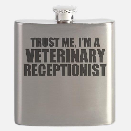 Trust Me, I'm A Veterinary Receptionist Flask