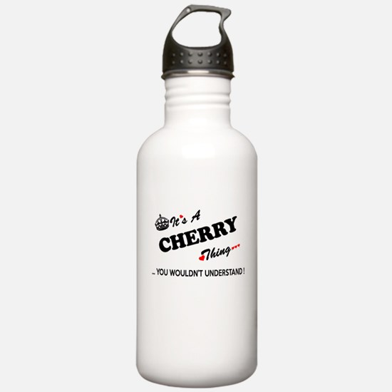 CHERRY thing, you woul Water Bottle