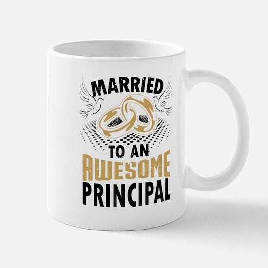 Married To An Awesome Principal Mugs