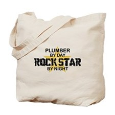Plumber RockStar by Night Tote Bag