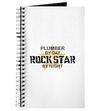 Plumber RockStar by Night Journal