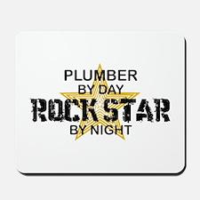 Plumber RockStar by Night Mousepad
