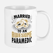Married To An Awesome Paramedic Mugs