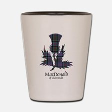 Thistle-MacDonald of Clanranald Shot Glass