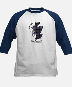 Map-MacDonald of Clanranald Kids Baseball Jersey