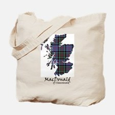 Map-MacDonald of Clanranald Tote Bag