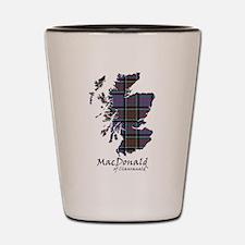 Map-MacDonald of Clanranald Shot Glass