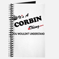 CORBIN thing, you wouldn't understand Journal
