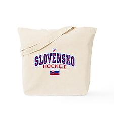 SK Slovakia Slovensko Hockey10 Tote Bag