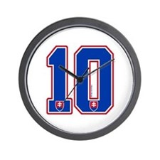 SK Slovakia Slovensko Hockey10 Wall Clock