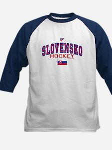 SK Slovakia Slovensko Hockey10 Kids Baseball Jerse