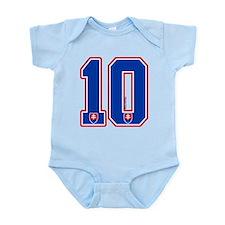 SK Slovakia Slovensko Hockey10 Infant Bodysuit