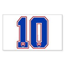 SK Slovakia Slovensko Hockey10 Decal
