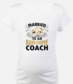 Married To An Awesome Coach Shirt