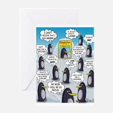 Penguin of the Month Greeting Cards
