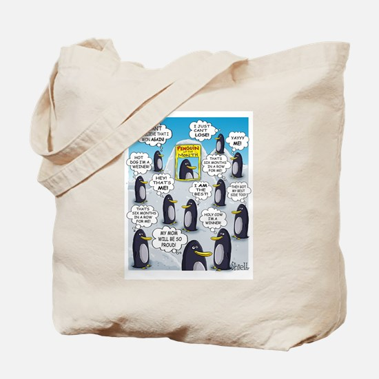 Penguin of the Month Tote Bag