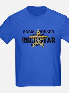 Social Worker Rock Star T