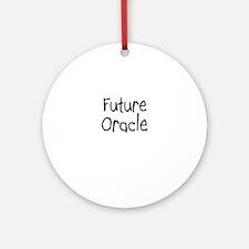 Future Oracle Ornament (Round)
