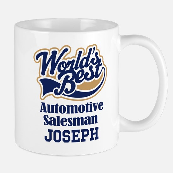 Automotive Salesman Personalized Gift Mugs