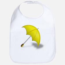 Yellow Umbrella Bib