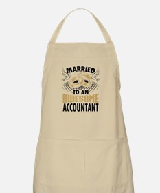 Married To An Awesome Accountant Apron