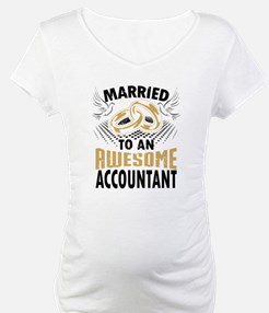 Married To An Awesome Accountant Shirt