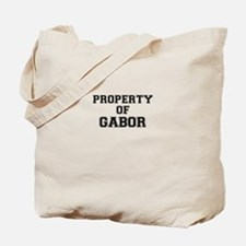 Property of GABOR Tote Bag