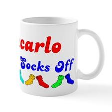 Giancarlo Rocks Socks (B) Mug