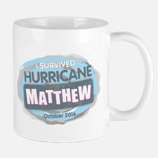 Hurricane Matthew Mugs