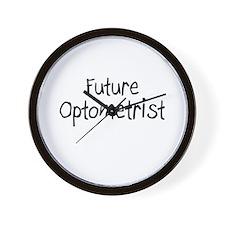 Future Optometrist Wall Clock