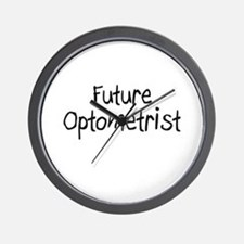 Future Optometrist Wall Clock