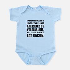 Vegetarians Eat Bacon Body Suit