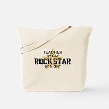 Teacher RockStar by Night Tote Bag
