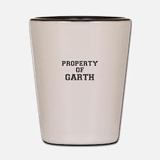 Property of GARTH Shot Glass