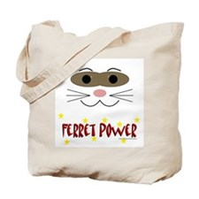 Ferret Power Tote Bag