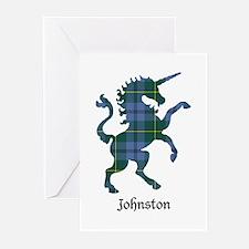 Unicorn - Johnston Greeting Cards (Pk of 10)