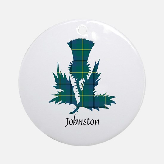 Thistle - Johnston Ornament (Round)