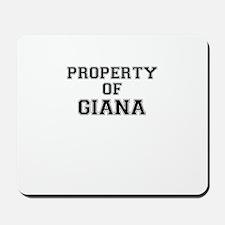 Property of GIANA Mousepad