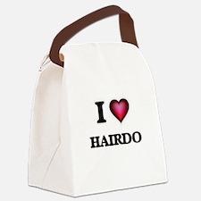 I love Hairdo Canvas Lunch Bag